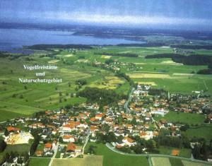 Luftaufnahme von Grabenstätt